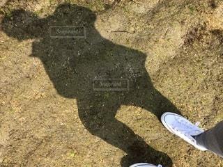海辺の影の写真・画像素材[1082063]