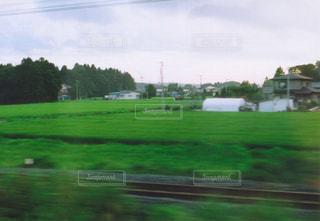 電車の車窓からみた景色2の写真・画像素材[1070787]