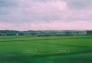 電車の車窓からみた景色3の写真・画像素材[1070788]