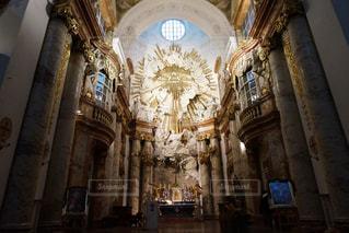 美しいウィーンの教会①の写真・画像素材[1069297]
