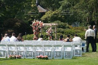 公園結婚式の写真・画像素材[1069403]