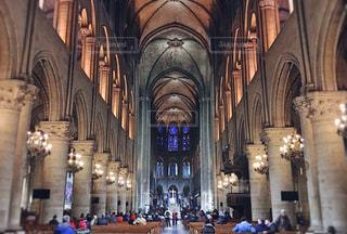 ヨーロッパの教会内部の写真・画像素材[1069233]
