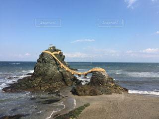 夫婦岩の写真・画像素材[1069987]