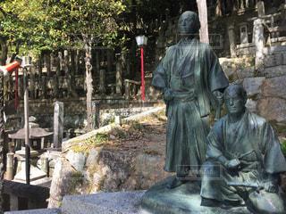 坂本龍馬  石像の写真・画像素材[1071599]