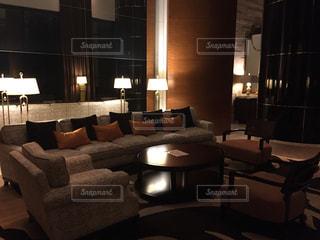 ホテルの部屋の写真・画像素材[1072405]