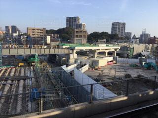 折尾駅改修工事(2018.3.12)の写真・画像素材[1070603]