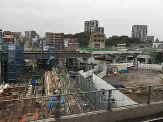 折尾駅改修工事(2018.8.20)の写真・画像素材[1070605]