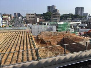 折尾駅改修工事(2017.7.31)の写真・画像素材[1072824]