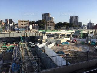 折尾駅改修工事(2018.3.23)の写真・画像素材[1078143]