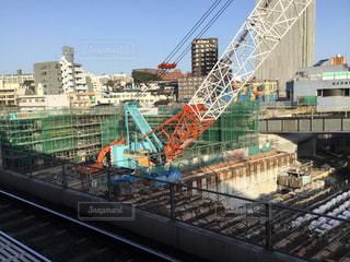折尾駅改修工事(2018.3.23)の写真・画像素材[1078145]