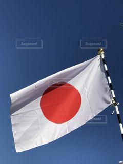 日本国旗の写真・画像素材[1070994]