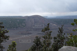 ハワイ島 キラウエア火山の写真・画像素材[1071058]