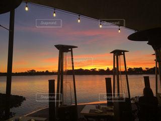 サンディエゴの夕焼けの写真・画像素材[3457230]