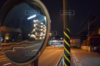 街の通りのビューの写真・画像素材[1100764]