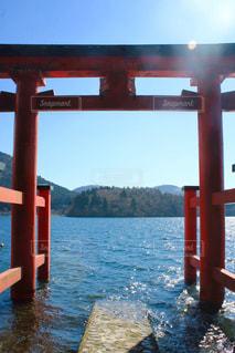 湖の写真・画像素材[494013]