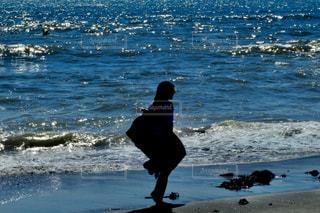 波を探すの写真・画像素材[1629847]