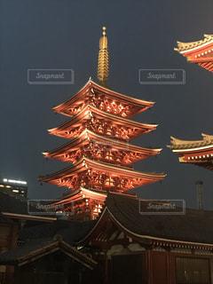 浅草寺 五重塔の写真・画像素材[1072688]
