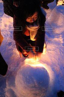 雪 女性 - No.1073010