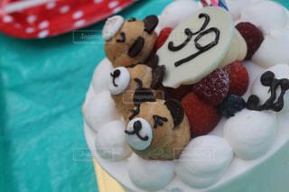 ピクニック ケーキの写真・画像素材[1073356]