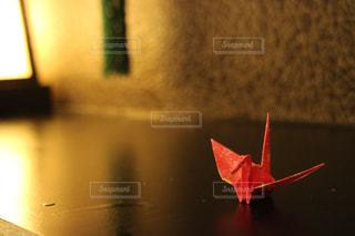 旅館の折り鶴の写真・画像素材[1073913]