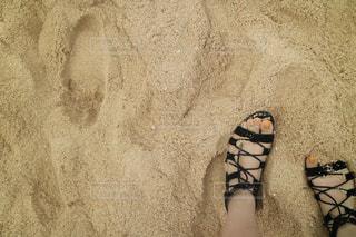 砂浜の写真・画像素材[1075087]