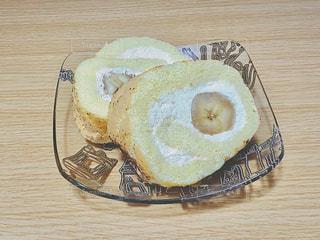 手作りロールケーキの写真・画像素材[1270390]