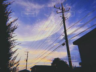 電線が好きの写真・画像素材[1392852]