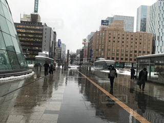 札幌駅前の写真・画像素材[1076980]