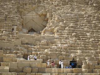 クフ王のピラミットの写真・画像素材[1090041]