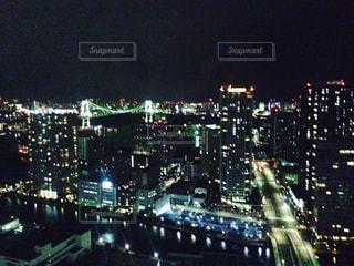 品川の夜景の写真・画像素材[1074083]