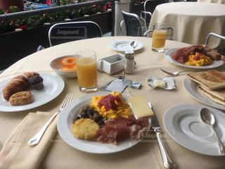 Hotel Monacoの朝食の写真・画像素材[1074368]