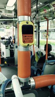 バスの降車ボタンの写真・画像素材[1074733]