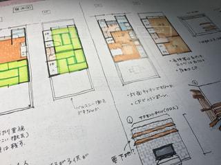 戸建ての内装のイラストの写真・画像素材[1075462]