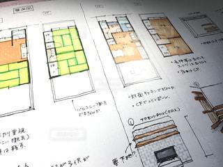 戸建ての内装のイラストの写真・画像素材[1075463]