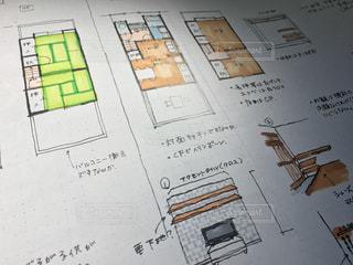 戸建ての内装のイラストの写真・画像素材[1075465]