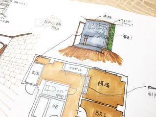 マンションの内装イラストの写真・画像素材[1075467]