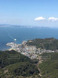 鋸山山頂からの眺めの写真・画像素材[1075020]