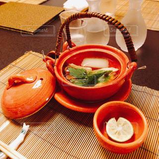松茸の土瓶蒸しの写真・画像素材[1610180]