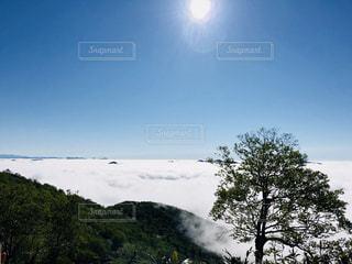 もこもこ雲海の写真・画像素材[1300407]