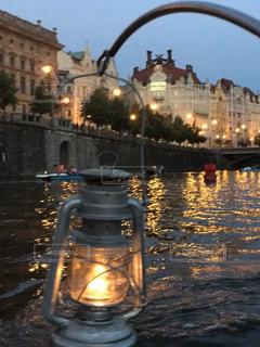 プラハの夕暮れの写真・画像素材[1077413]