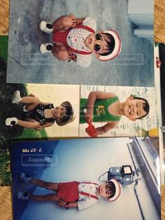子供の頃の思い出写真の写真・画像素材[1185373]