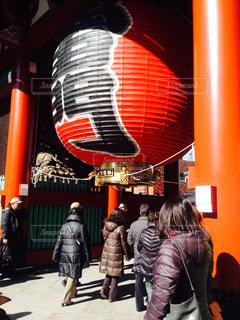 浅草寺の雷門の写真・画像素材[1076965]