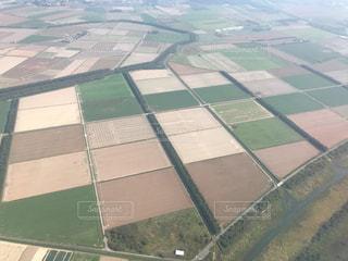 飛行機からの風景の写真・画像素材[2493647]
