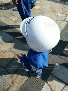 ヘルメットの写真・画像素材[2620422]