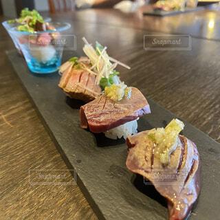 肉寿司の写真・画像素材[4911912]