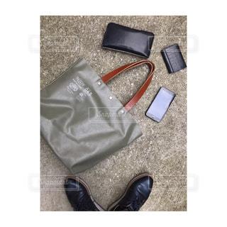 しごとを上げる私の鞄の中身の写真・画像素材[1953671]