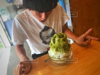 かき氷と男 - No.1078144