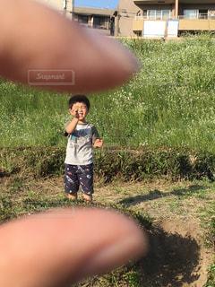 小指サイズの宝物の写真・画像素材[1078850]
