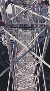 横浜の観覧車の写真・画像素材[1079278]