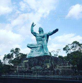 平和祈念像の写真・画像素材[1079456]